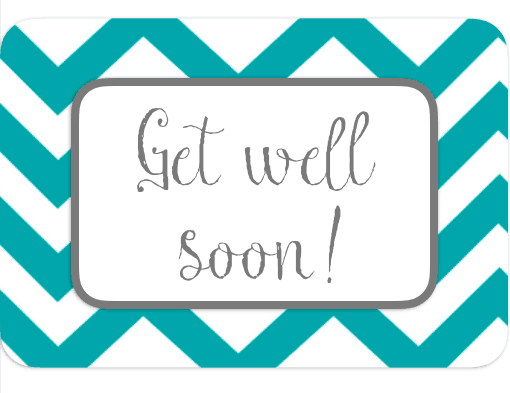 photo relating to Get Well Cards Printable referred to as Free of charge Printable Consider Very well Playing cards Cultured Palate