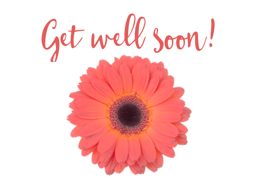 Free Printable Get Well Cards - Flower