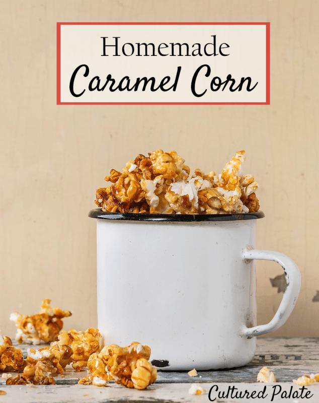 Homemade Caramel Corn