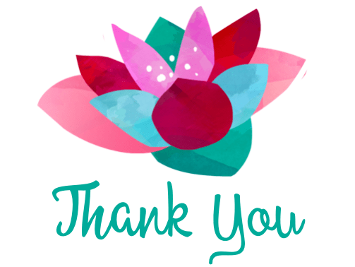 Free Printable Thank You Cards flower