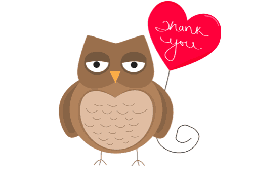 Free Printable Thank You Cards owl
