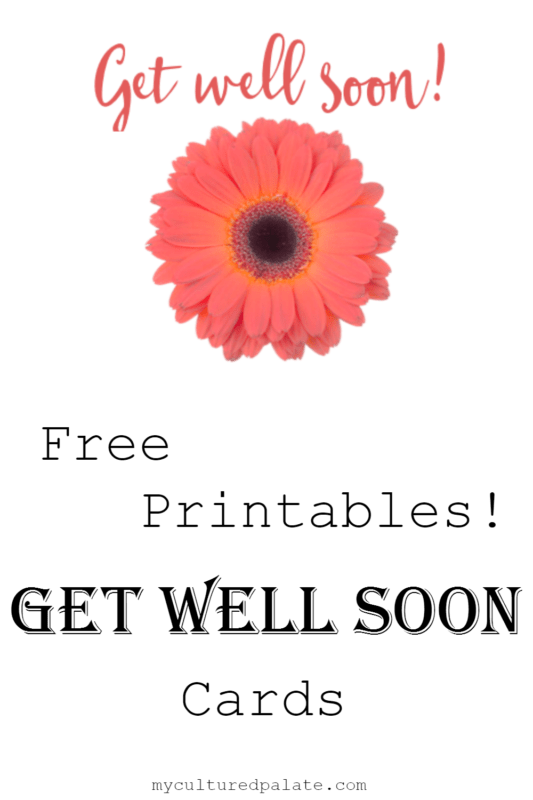 Geeky image for printable get well card