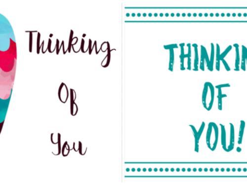 free printable thinking of you cards