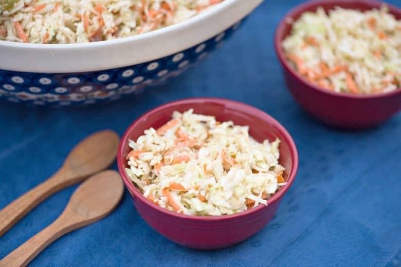 Quick and Creamy Coleslaw