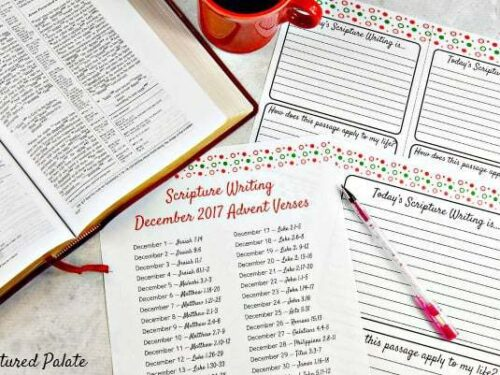 Scripture Writing – My Exciting New Way to Study