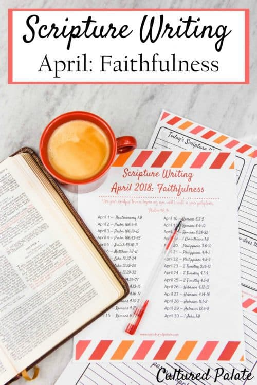 scripture writing verses show in vertical pic with title