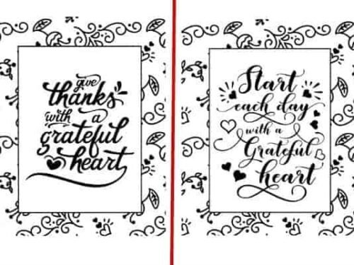 Encouraging Coloring Pages – Set of 5