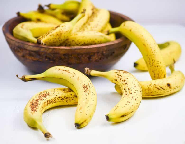 Health Benefits of Bananas - bananas in a wooden bowl
