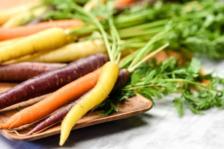 Let Food Be Thy Medicine - Healthy Foods to Eat - carrots of different colors shown