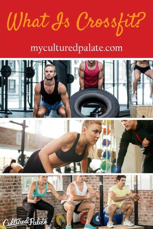 3 photo collage of people doing different crossfit workouts