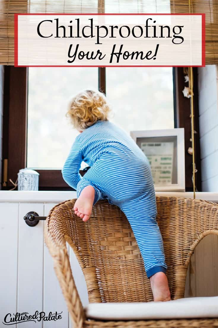 Do you know the importance of Childproofing your home. Home Safety for Children should not be underestimated! myculturedpalate.com #childproofing #babyproofing #homesafety #childsafety #safekids