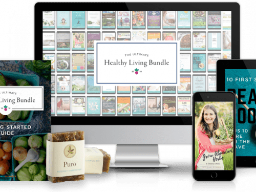Ultimate image showing the resources from the Healthy Living Bundle