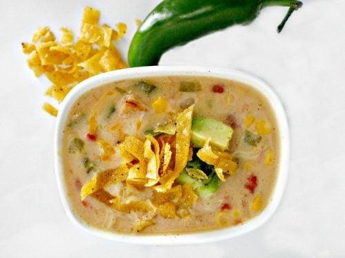 Instant Pot White Chicken Chili Recipe (GAPS & Crock Pot Opt.)