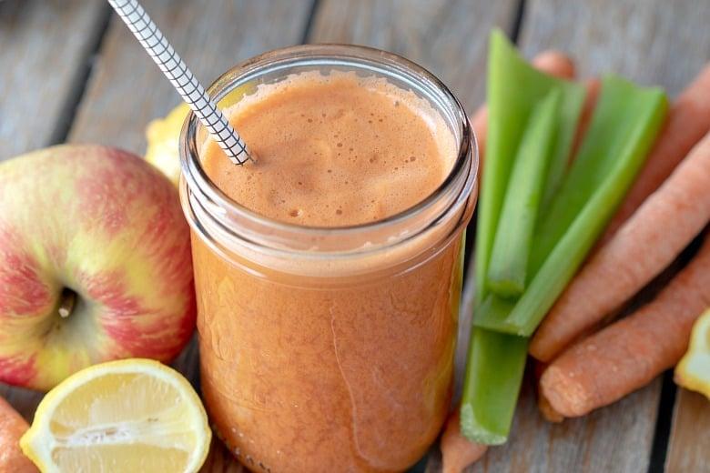 Carrot Apple Juice Recipe | Cultured Palate