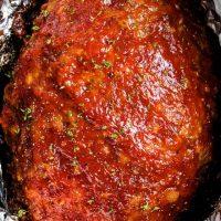 The Best Crockpot Meatloaf