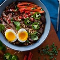 Slow Cooker Pork Ramen Soup