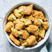 Orange Chicken 2 Ways –Stove Top or Crockpot {Gluten-Free, Keto}